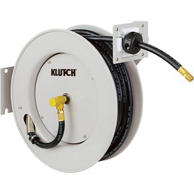 9. Klutch Auto Rewind Air Hose Reel