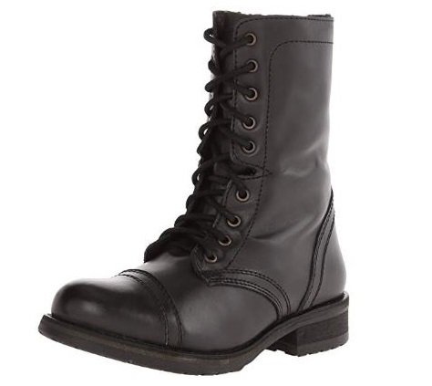 9. Steve Madden Women's Troopa 2.0 Combat Boot