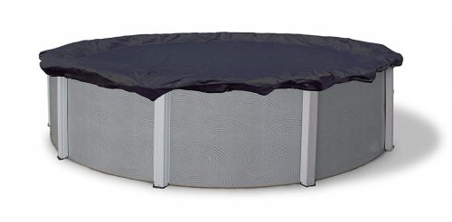 1. Blue Wave Bronze 8-Year 24-ft Round Above Ground Pool Winter Cover