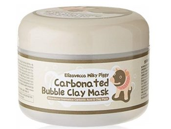1. Elizavecca Milky Piggy Carbonated Bubble Clay Mask