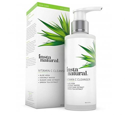 1. Vitamin C Facial Cleanser - Anti Aging, Breakout & Blemish, Wrinkle Reducing Gel Face Wash