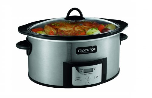 1. Crock-Pot Countdown Programmable Oval Slow Cooker
