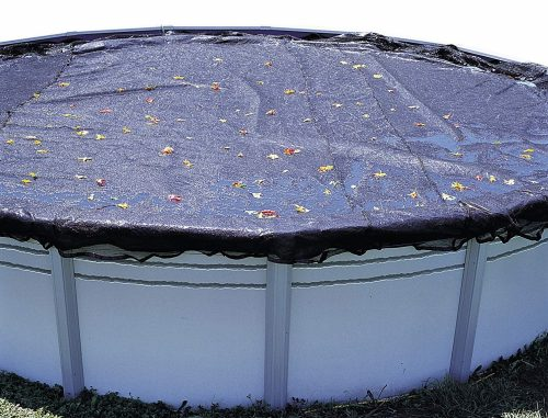 10. In The Swim 24 ft Round Above Ground Pool Leaf Net Cover
