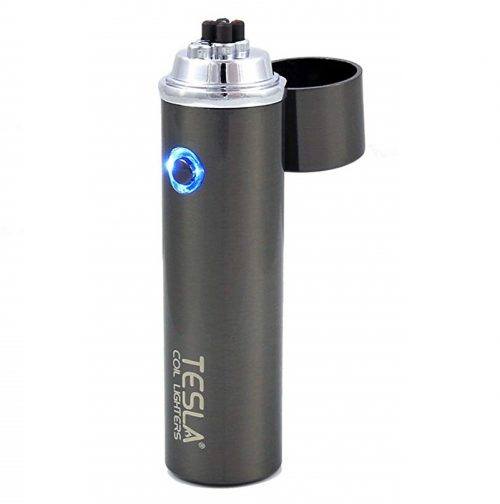 10. Tesla Coil Lighters™ 360° Dual Arc USB Rechargeable Windproof Electrical Plasma Arc Lighter