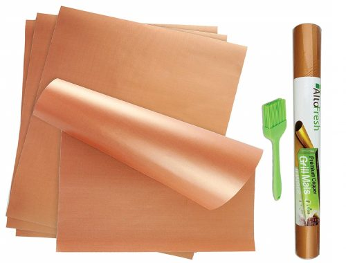 10. Alto Fresh Large Copper Grill & Bake Mats
