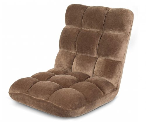 2. BIRDROCK HOME Adjustable 14-Position Memory Foam Floor Chair