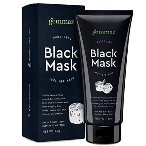 2. Black Mask Peel off Mask, Charcoal Purifying Blackhead Remover Mask Deep Cleansing for Acne & Acne Scars