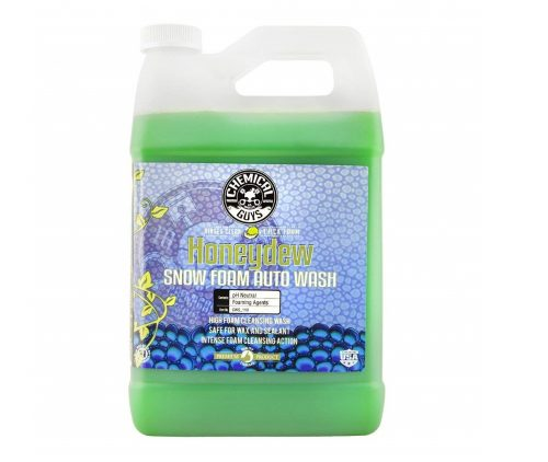 2. Chemical Guys CWS_110 Honeydew Snow Foam Car Wash Soap and Cleanser (1 Gal)