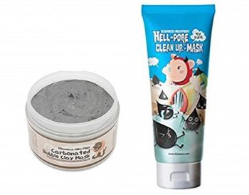 2. Elizavecca Milky Piggy Hell-Pore Clean Up nose Mask With Carbonated Bubble Clay Mask