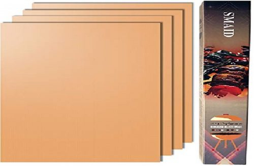 2. Smaid Non-Stick BBQ Copper Grill Mats