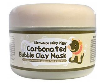 3. Elizavecca Milky Piggy Carbonated Bubble Clay Mask 100g