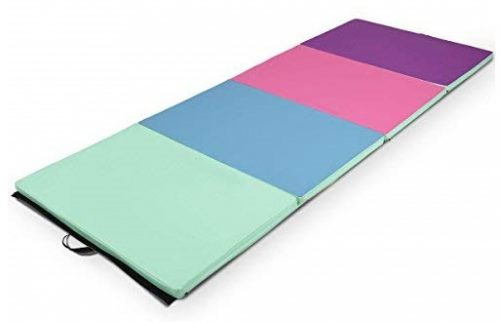 3. Gymnastics Mat Folding PU Panel Gym Fitness Exercise