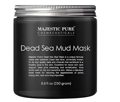 3. Majestic Pure Dead Sea Mud Mask for Face and Body - Gentle Facial Mask and Pore Minimizer for Men and Women - 8.8 fl. Oz