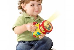3. VTech Spin and Learn Color Flashlight, Yellow