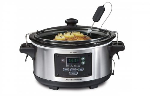 3. Hamilton Beach Programmable Set & Forget Slow Cooker