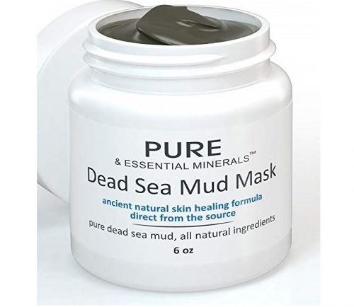 4. Best Dead Sea Mud Mask for Clear Skin, All Natural & Organic Hydrating & Healing Exfoliating Facemasks for Acne, Eczema, Blackheads, Facial Pore Mini