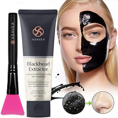 4. Black Peel off Mask,Charcoal Blackhead Remover Mask 80 gram- Deep Cleansing Mask, Deep Pore Cleanse for Acne, Oil Control, and Anti-Aging Wrinkl