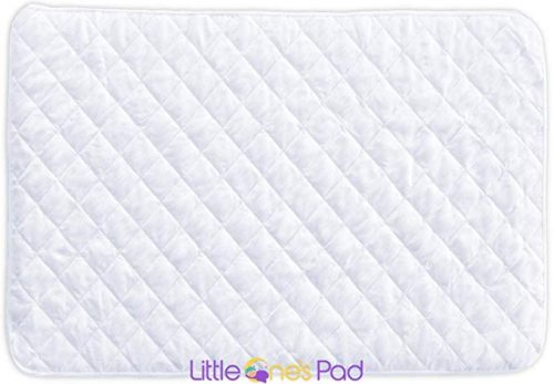 4. Little One's Pad Pack N Play Crib Mattress Cover - Fits ALL Baby Portable Cribs, Play Yards and Foldable Mattresses