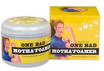 5. Carbonated Bubble Clay Mask (Cruelty Free) One Bad Motha'foamer bubble mask By Elizabeth Mott Net Wt