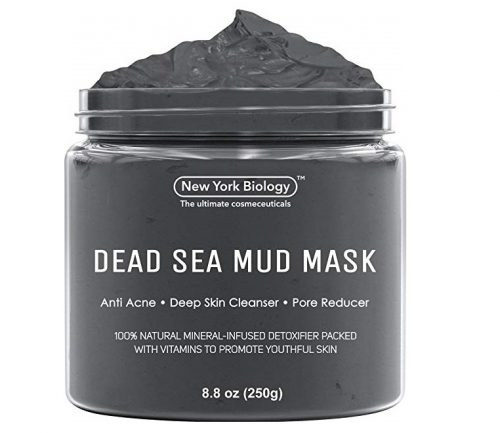 5. Dead Sea Mud Mask for Face & Body - 100% Natural Spa Quality - Best Pore Reducer & Minimizer to Help Treat Acne , Blackheads & Oily Skin – Tightens S
