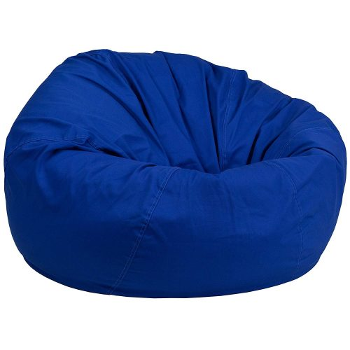 5. Flash Furniture Oversized Solid Royal Blue Bean Bag Chair