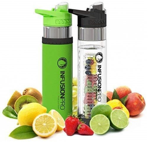 5. Infusion Pro Premium Fruit Infused Water Bottle