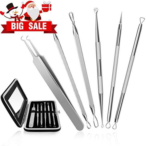 6. CHIMOCEE Professional Surgical Blackhead Remover Tools, Blemish and Splinter Acne Pimple Removal Kit
