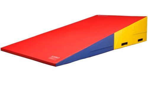 6. We Sell Mats Gymnastics Folding and Non-Folding Incline Cheese Wedge Skill Shape Tumbling Mat