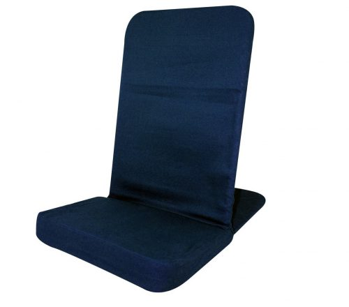 7. BackJack XL Floor Chair (Navy Blue)
