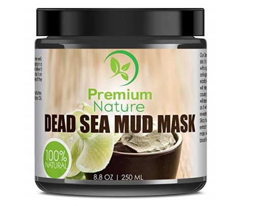 7. Dead Sea Mud Mask for Face and Body - 8.8 oz Melts Cellulite Treats Acne Strech Mark Removal