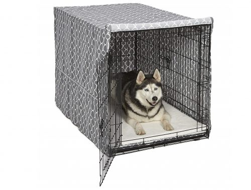 7. MidWest Homes for Pets Dog Crate Cover