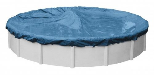 7. Robelle 3524-4 Super Winter Pool Cover for Round Above Ground Swimming Pools, 24-ft. Round Pool