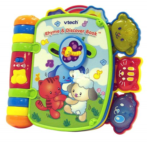 7. VTech Rhyme and Discover Book (Frustration Free Packaging)