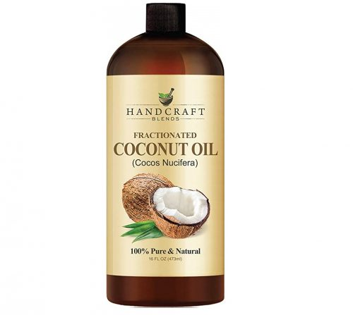 8. Fractionated Coconut Oil – 100% Pure & Natural Premium Therapeutic Grade
