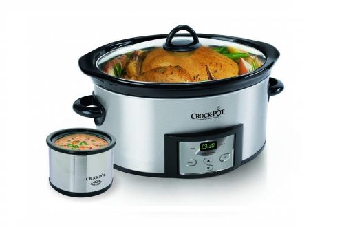 8. Crock-Pot Countdown Programmable Oval Slow Cooker