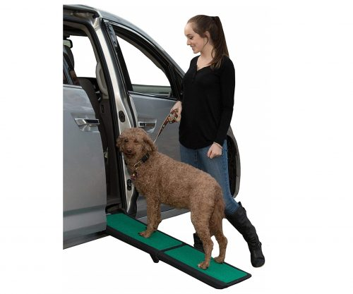 9. Pet Gear Travel Lite Ramp with supertraX Surface for Maximum Traction, 4 Models to Choose from