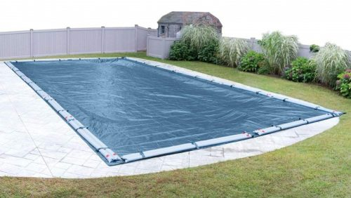 9. Robelle 352040R Super Winter Pool Cover for In-Ground Swimming Pools, 20 x 40-ft. In-Ground Pool