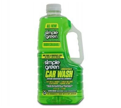 9. Simple Green 43210 Car Wash 67 oz.