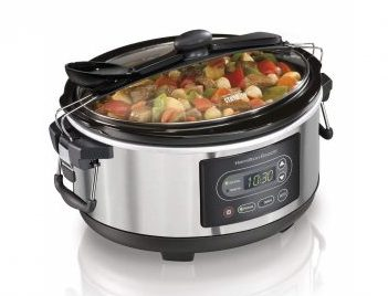 9. Hamilton Beach Programmable Stay or Go Slow Cooker