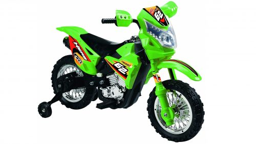9. Vroom Rider Battery Operated 6V Kids Dirt Bike