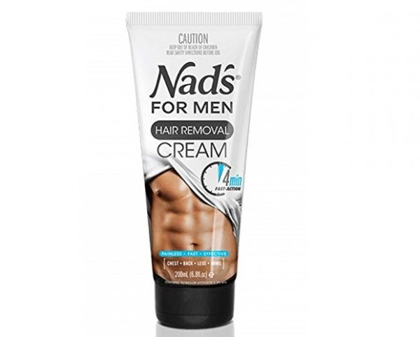 1. Nad's for Men Hair Removal Cream, 6.8 oz.