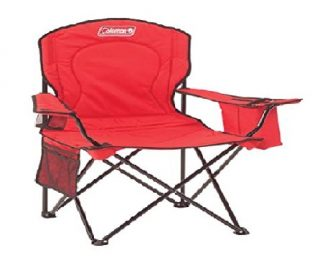 1.Coleman-Portable-Quad-Camping-Chair-with-Cooler