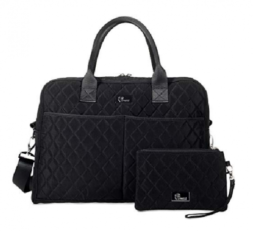 10. Pursetti Quilted Weekender Bag for Women