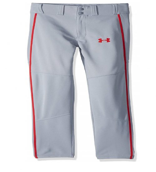 10. Under Armour Boys' Heater Piped Baseball Pants