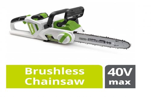 10. POWERSMITH PCS140H 14-Inch 40V Max Rechargeable Cordless Chainsaw
