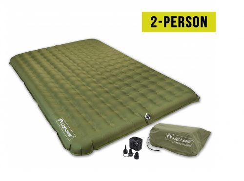 2. Lightspeed Outdoors 2 Person PVC-Free Air Bed Mattress for Camping and Travel