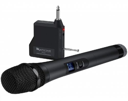 2. FIFINE Handheld Dynamic Microphone Wireless Mic System
