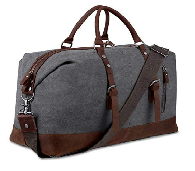 2. Bluboon Canvas Overnight Bag