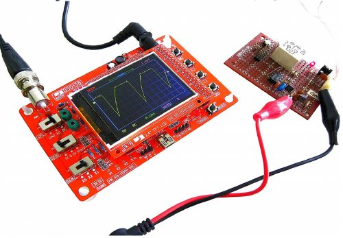 "2. Kuman DIY Kit Open Source 2.4"" TFT 1Msps Digital Oscilloscope Kit"