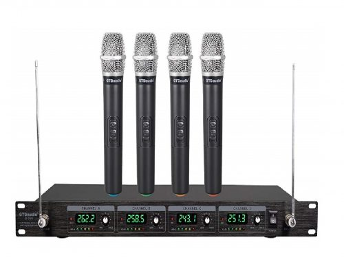3. GTD Audio G-380H VHF Wireless Microphone System